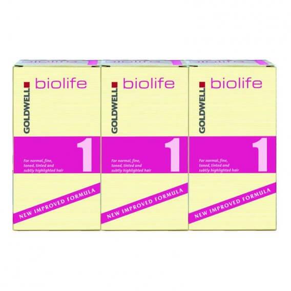 Goldwell Biolife 1 Normal/Fine Application x 3