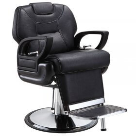 Lotus Marco Polo Barber Chair Black