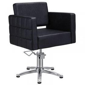 Lotus Washington Styling Chair Black with 5 Star Base