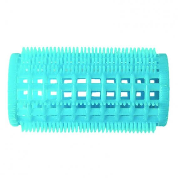 Plastic Comb Rollers Blue Bulk Pack (36) 32mm