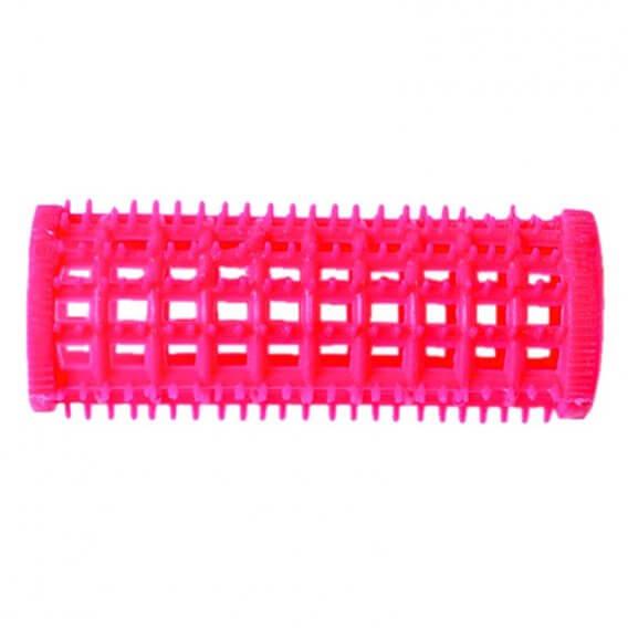 Plastic Comb Rollers Pink Bulk Pack (36) 25mm