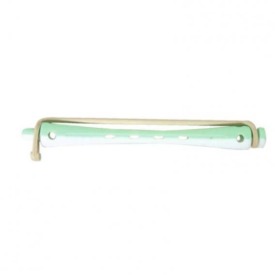Sibel Two-Tone Vent Perm Rod/12 Long White/Green