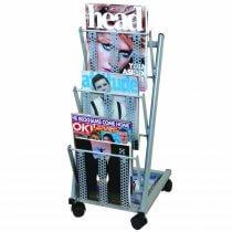 Mobile Single Mobrakk Matt Grey Magazine Rack