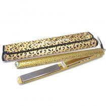 Corioliss C3 Ultimate Styling Straightening Iron Gold Leopard
