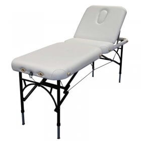 Affinity Marlin Massage Table - White