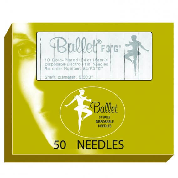 Gold Ballet Needles