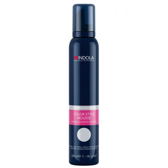 Indola Color Mousse Pearl Grey 200ml