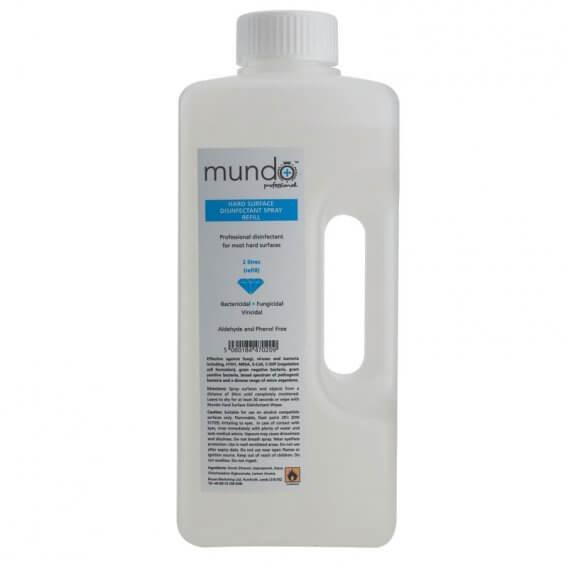 Mundo Hard Surface Spray Refill 2 Litre