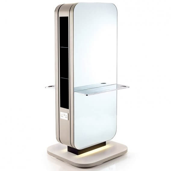 REM Paragon 2 Seat Island Unit with Direct Floor Fixing