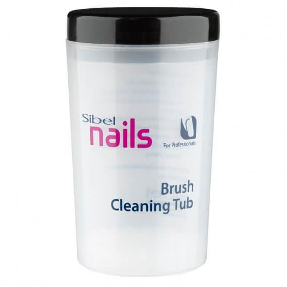 Sibel Nail + Cosmetic Brush Cleaning Tub