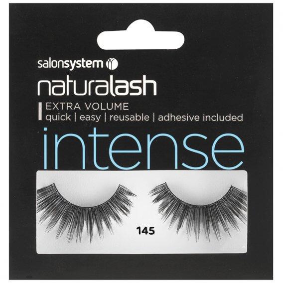 Salon System Naturalash Strip Lashes 145 Intense Black
