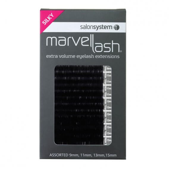 Marvel-Lash Silky Lash Assorted Black (approx 2,960) by Salon System