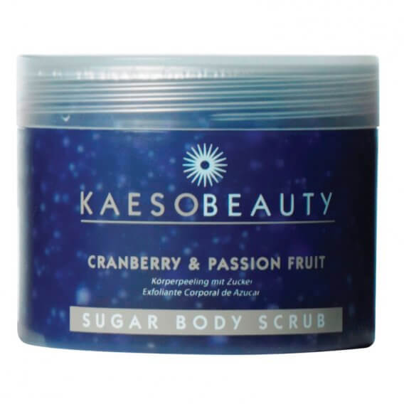 Kaeso Cranberry and Passion Fruit Sugar Body Scrub 450ml