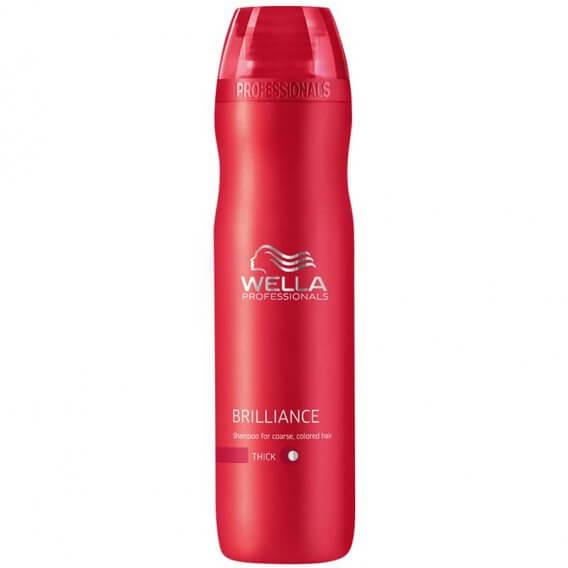 Brilliance Shampoo for Coarse Hair 250ml Wella Professionals
