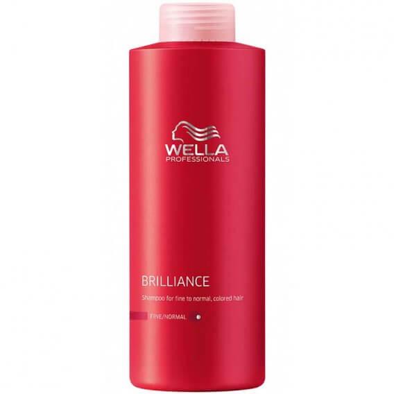 Brilliance Shampoo for Fine Hair 1000ml Wella Professionals