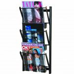 Magrakk Magazine Rack Black