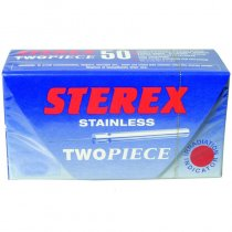 Sterex Stainless Steel Two Piece Needles F4S Short - Box of 50