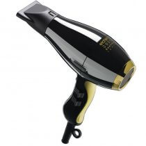 Elchim 3900 Healthy Ionic Hairdryer Black and Gold