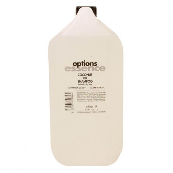 Options Essence Coconut Oil Shampoo Normal/Dry 5 Litre
