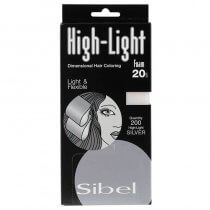 Sibel Silver High-Light Foam Wraps Small 9.5 x 20cm 200 sheets