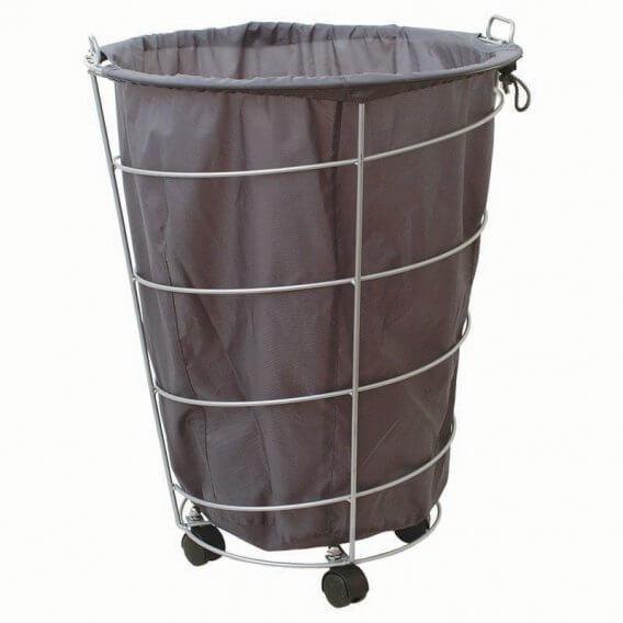 Sibel Towel Basket with Wheels