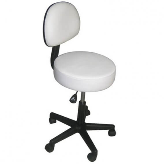 Affinity Stool With Backrest