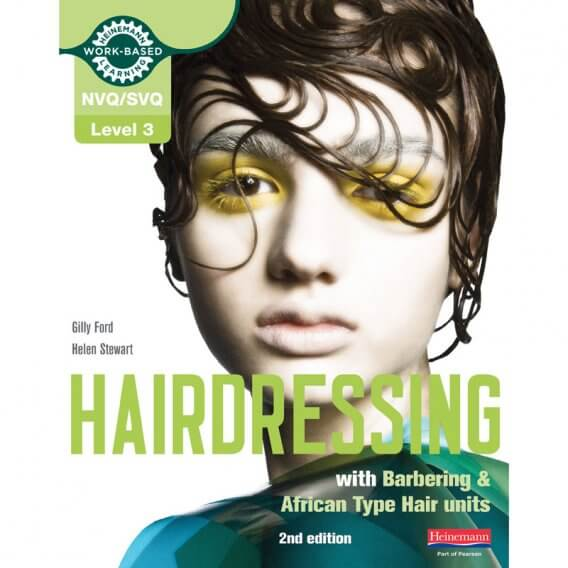 Hairdressing S/NVQ Level 3 with Barbering Units Book