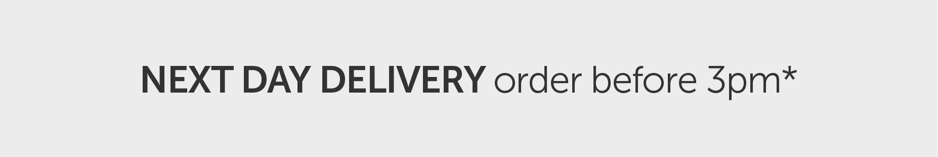 Next Day Delivery | Salons Direct