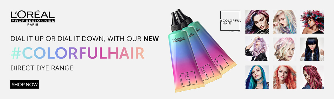 L'Oreal Colorful Hair | Salons Direct