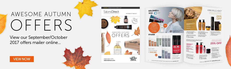 September October Mailer | Salons Direct