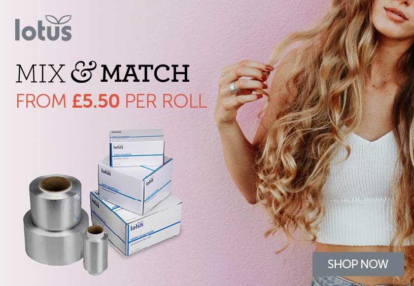 Lotus Hair Foil | Salons Direct