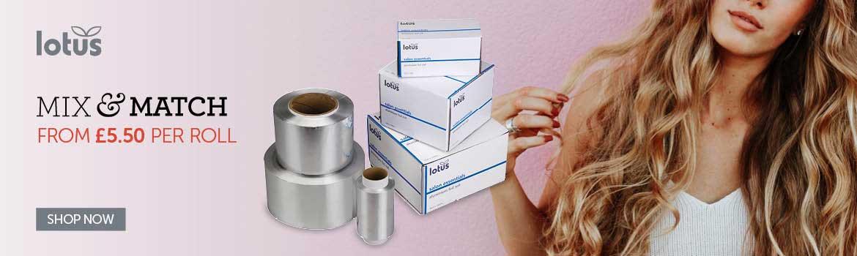Lotus Hairr Foil | Salons Direct