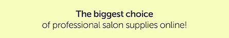The biggest choice of professional salon supplies