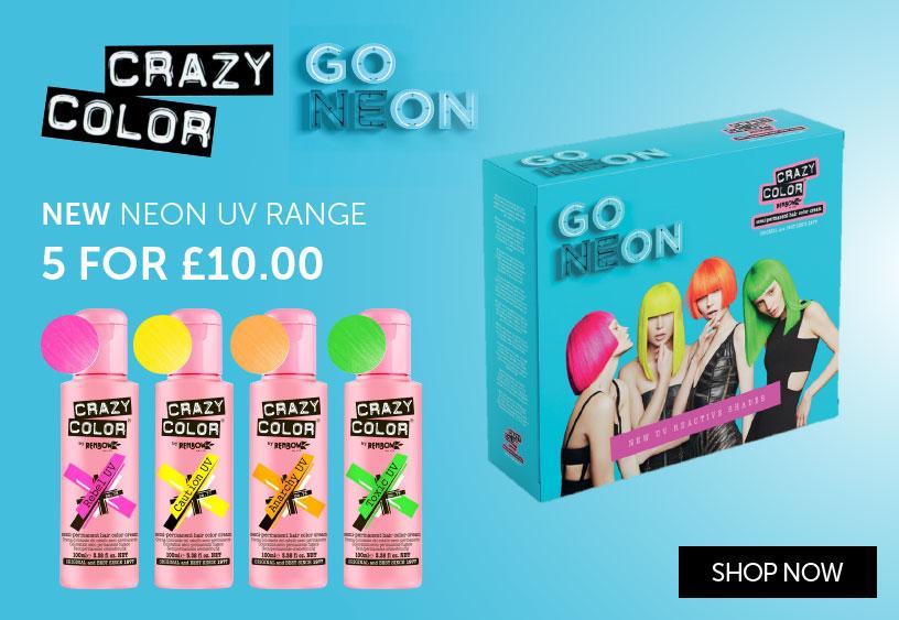 Crazy Color NEON   Salons Direct